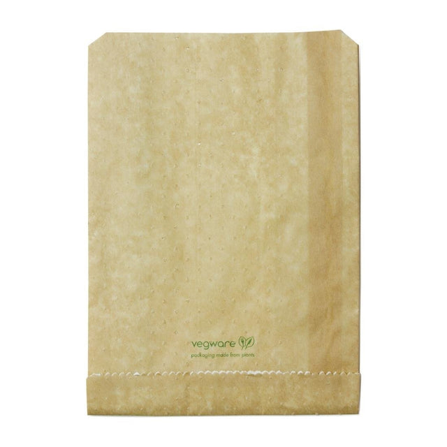 Vegware Compostable Therma Paper Hot Food Bags 229 x 165mm (Pack of 500) - FC899
