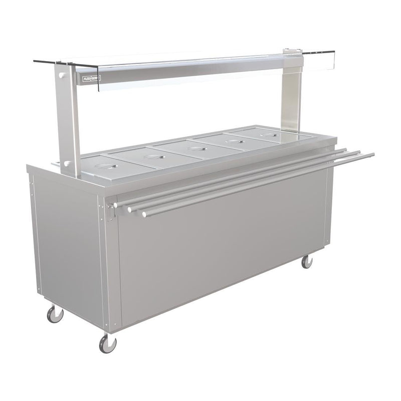 Parry Ambient GN Buffet Bar with Chilled Cupboard 1830mm FS-AW5PACK - FD215