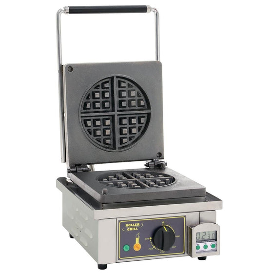 Roller Grill Round Waffle Maker GES75 - GP310