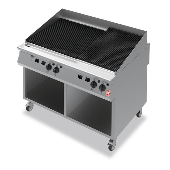 Falcon F900 Chargrill on Mobile Stand Propane Gas G94120 - GR450-P