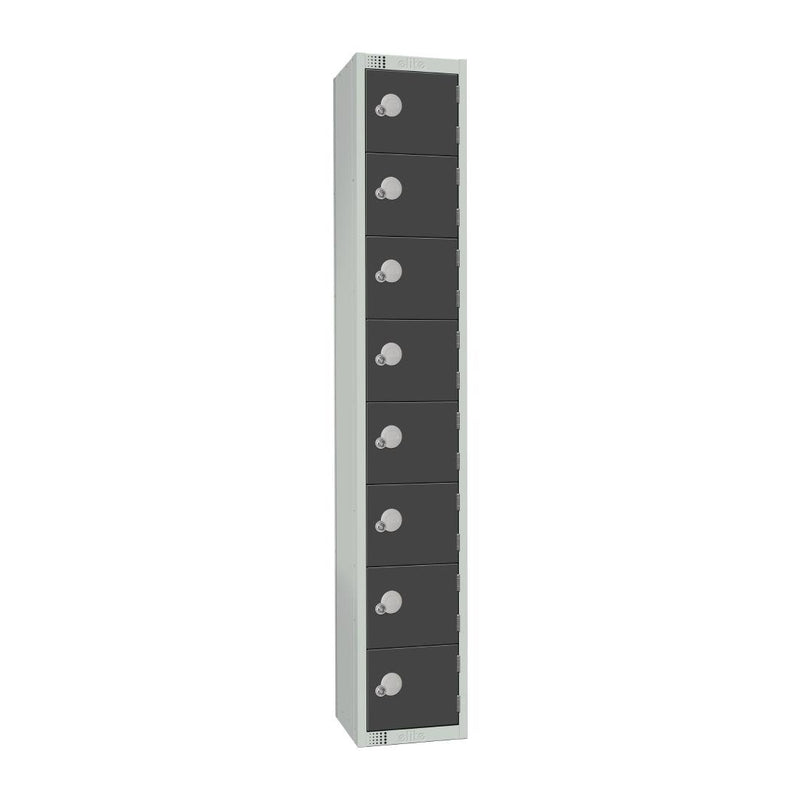 Elite Eight Door Electronic Combination Locker Graphite Grey - GR697-EL