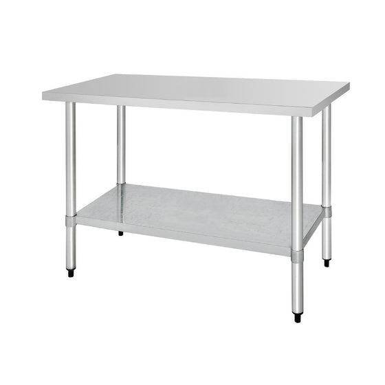Vogue Stainless Steel Prep Table 1500mm - T377