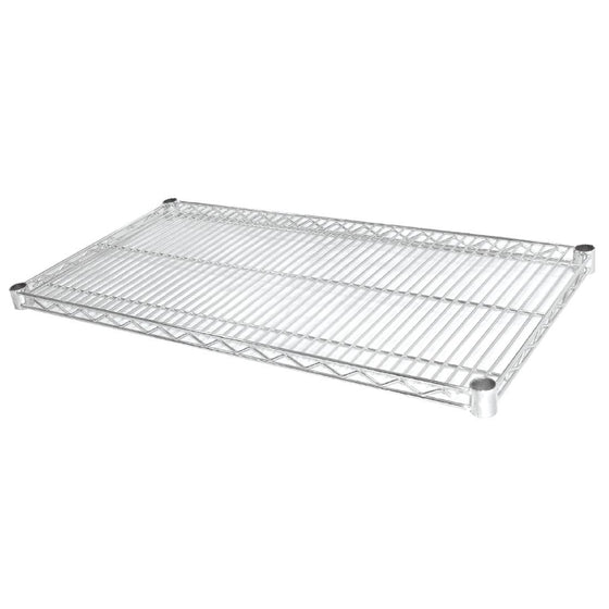 Vogue Chrome Wire Shelves 1525x457mm (Pack of 2) - U891