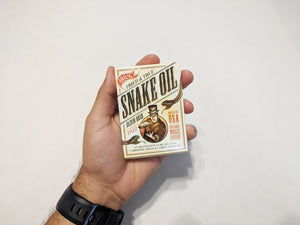 Playing Cards: Snake Oil Elixir Deck