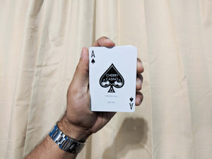 Cherry Casino Playing Cards (True Black)