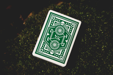 Green Wheel DKNG Playing Cards