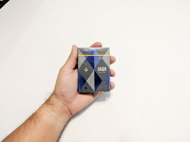 JAQK Blue Edition Playing Cards (Limited Supplies)