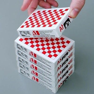 Red Checkerboards by Anyone Worldwide (Limited Supplies)