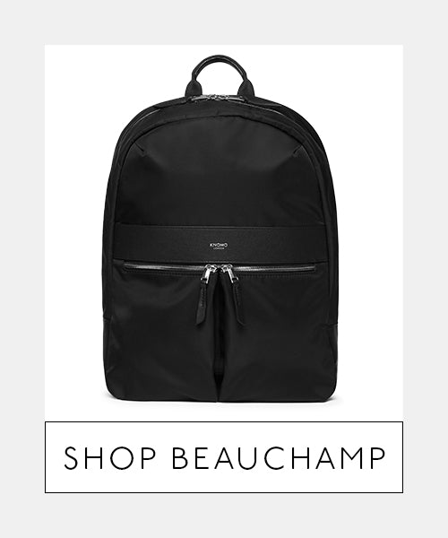 Laptop Backpack Front - Shop Beauchamp