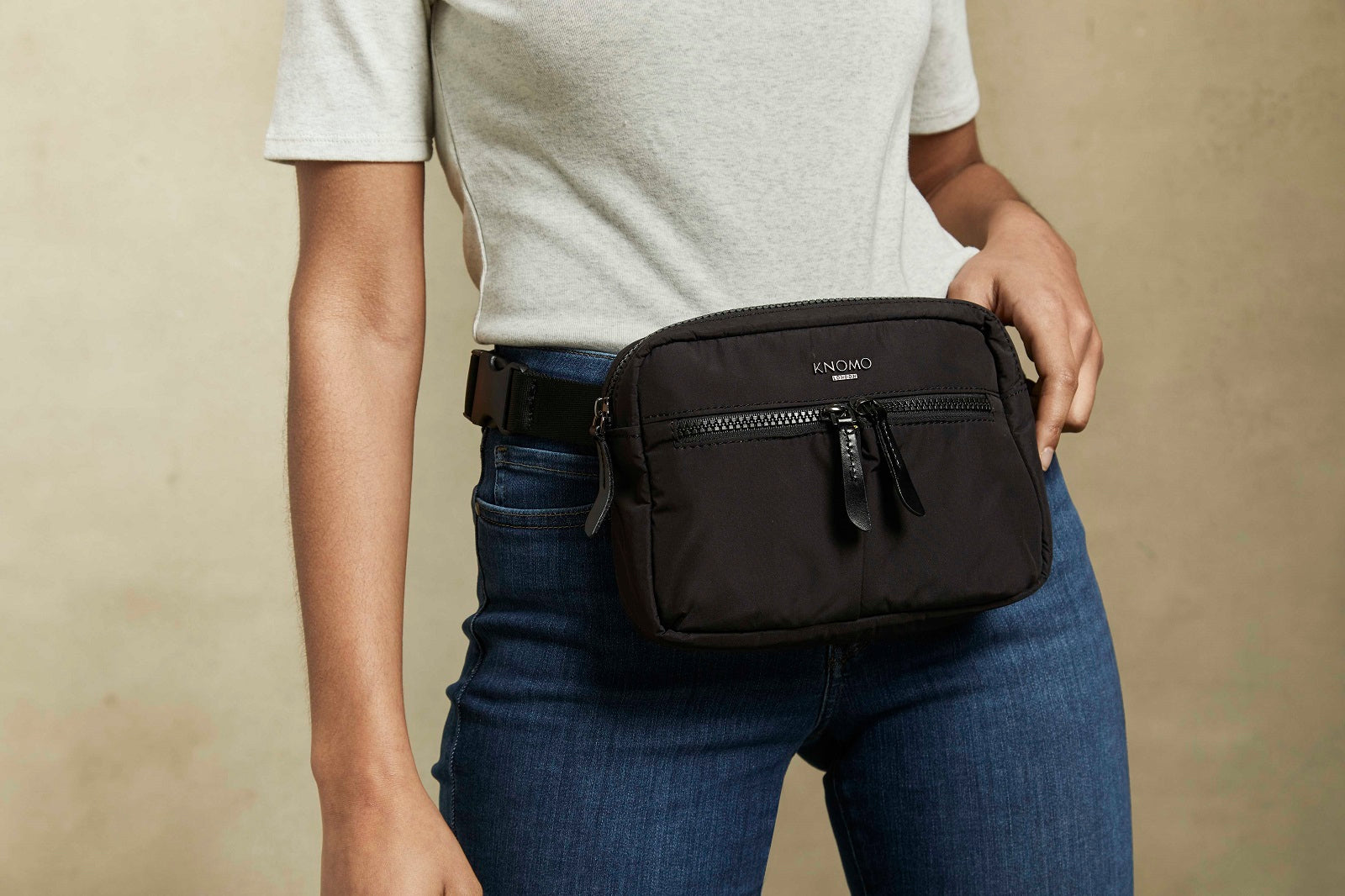 Palermo Cross-Body Bag in Black