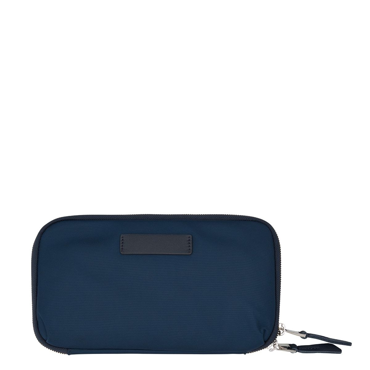 "KNOMO Knomad Travel Wallet Travel Organiser From Back 8"" -  Dark Navy Blazer 