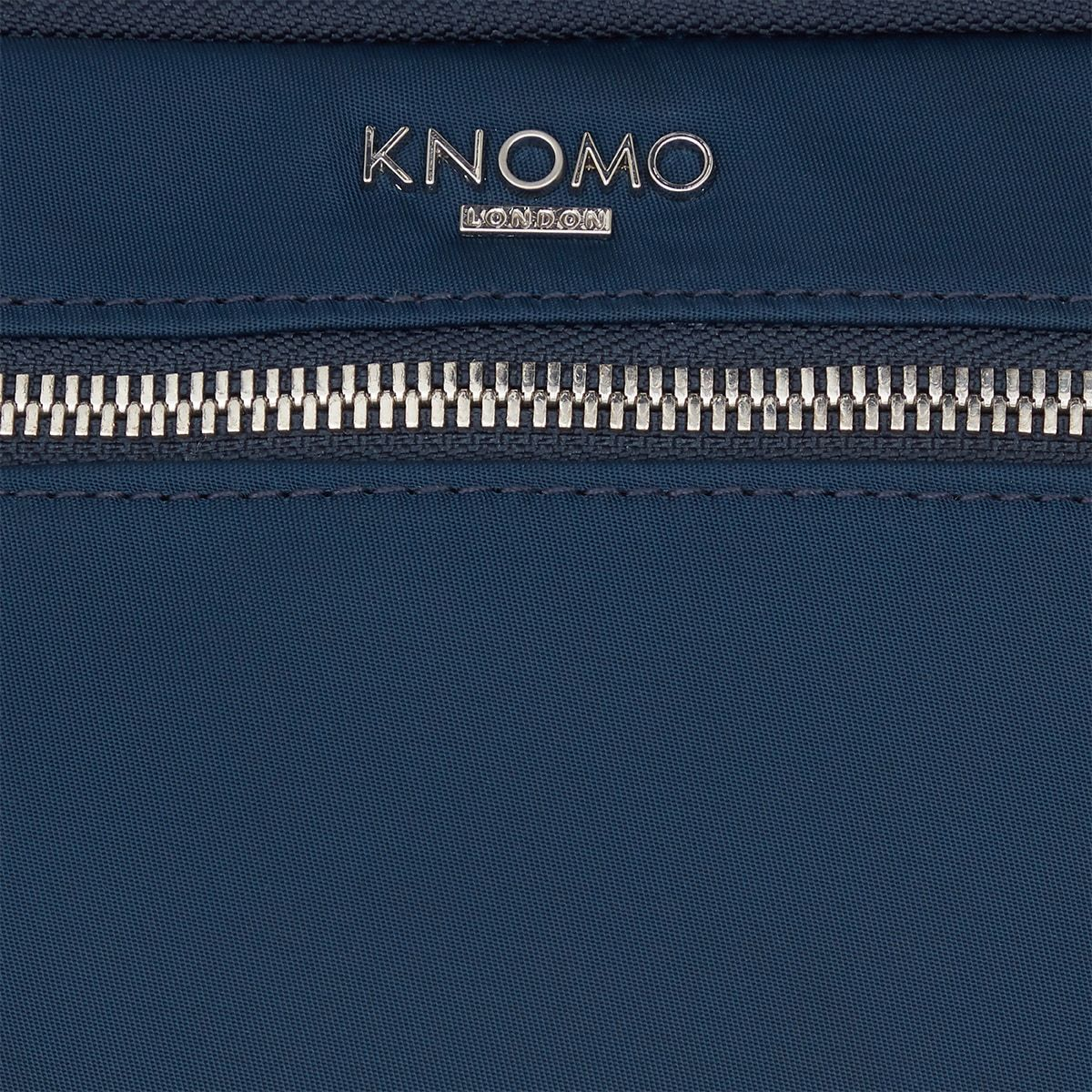 "KNOMO Knomad Travel Wallet Travel Organiser Close Up Logo 8"" -  Dark Navy Blazer 