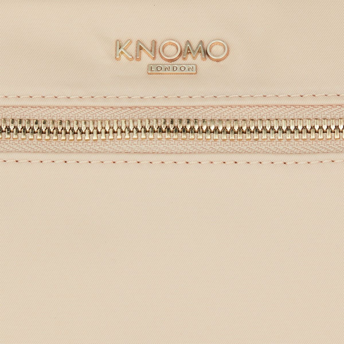 "KNOMO Knomad X-Body Organiser Tech Organiser Close Up Front Zip 10.5"" -  Trench Beige 