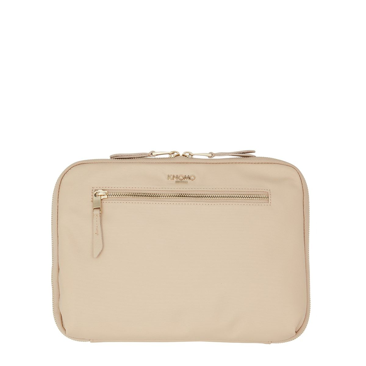"KNOMO Knomad X-Body Organiser Tech Organiser From Front 10.5"" -  Trench Beige 