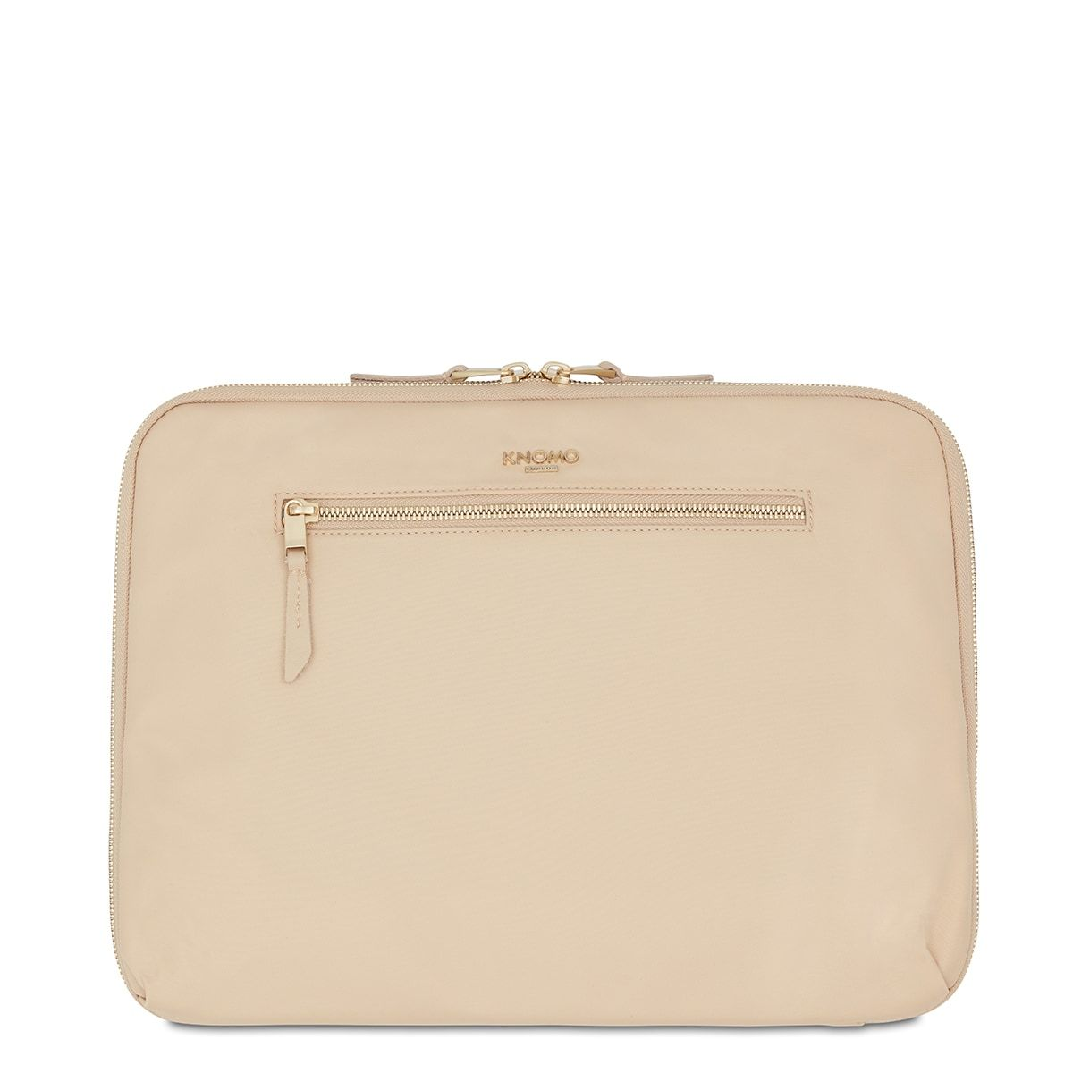 "KNOMO Knomad X-Body Organiser Tech Organiser From Front 13"" -  Trench Beige 