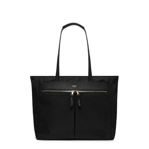 "KNOMO Grosvenor Place Laptop Tote Bag - 14"" From Front 