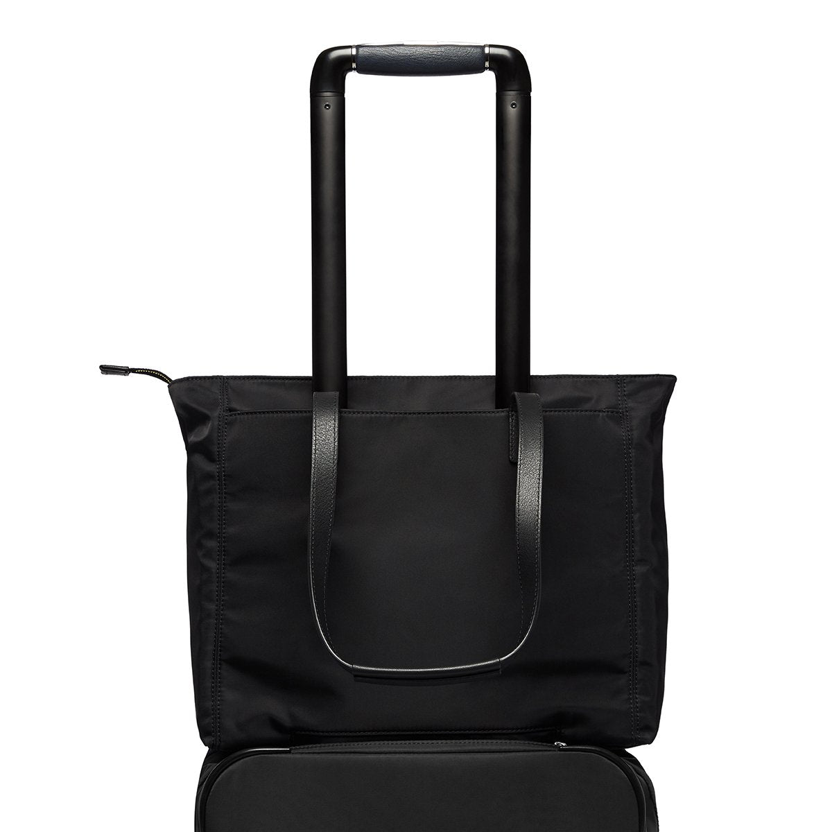 "KNOMO Grosvenor Place Tote Trolley Sleeve View 14"" -  Black 