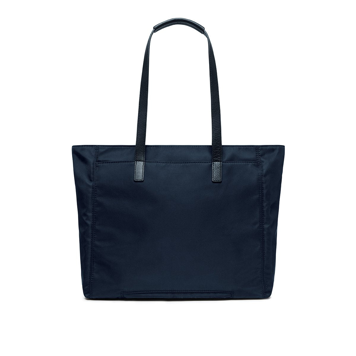 "KNOMO Grosvenor Place Tote From Back 14"" -  Dark Navy Blazer 