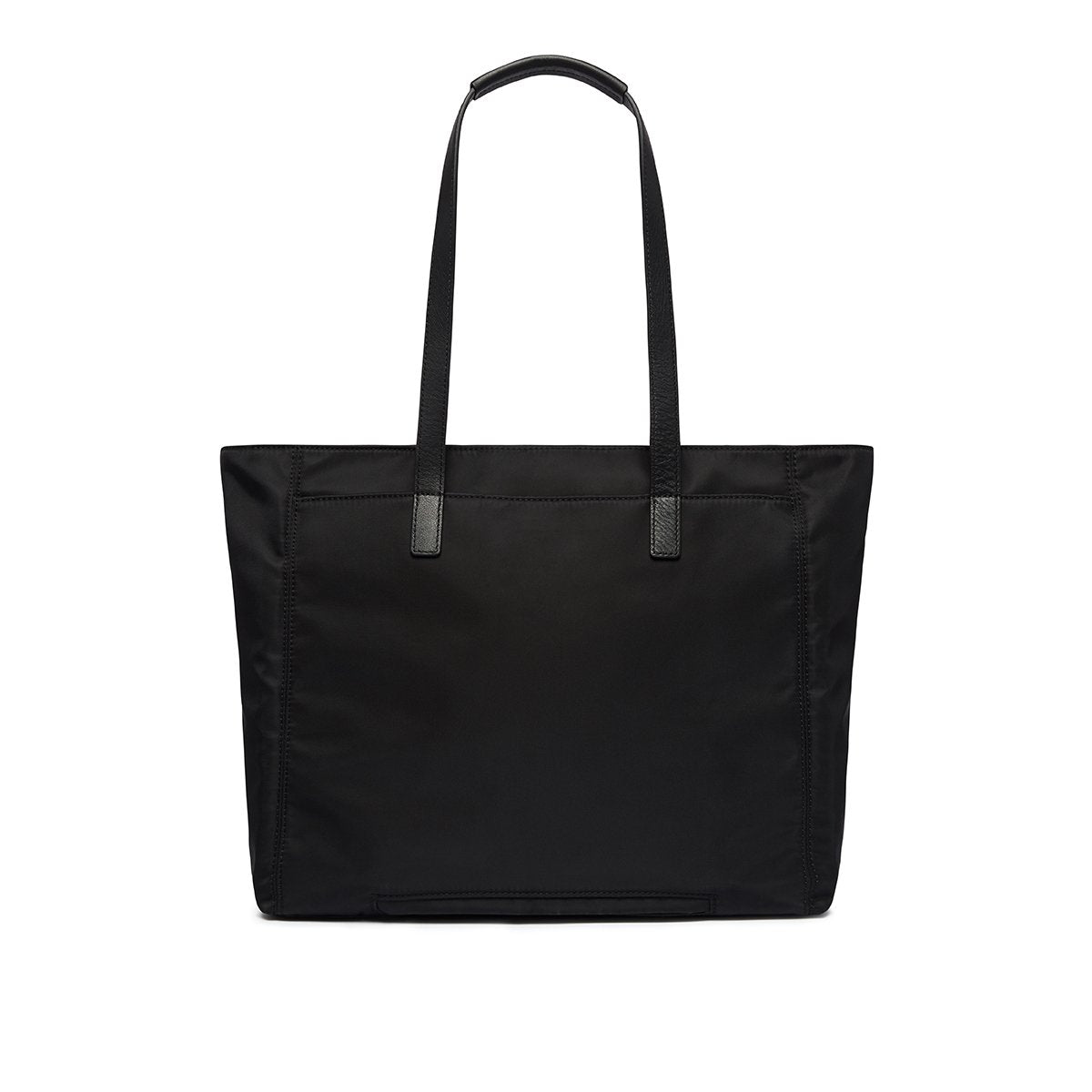 "KNOMO Grosvenor Place Tote From Back 14"" -  Black 