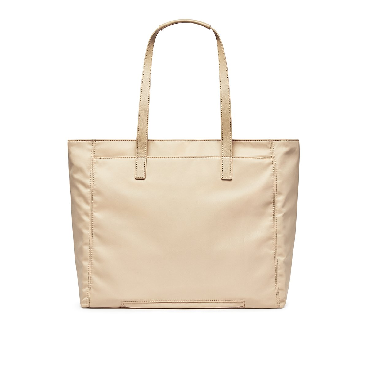 "KNOMO Grosvenor Place Tote From Back 14"" -  Trench Beige 