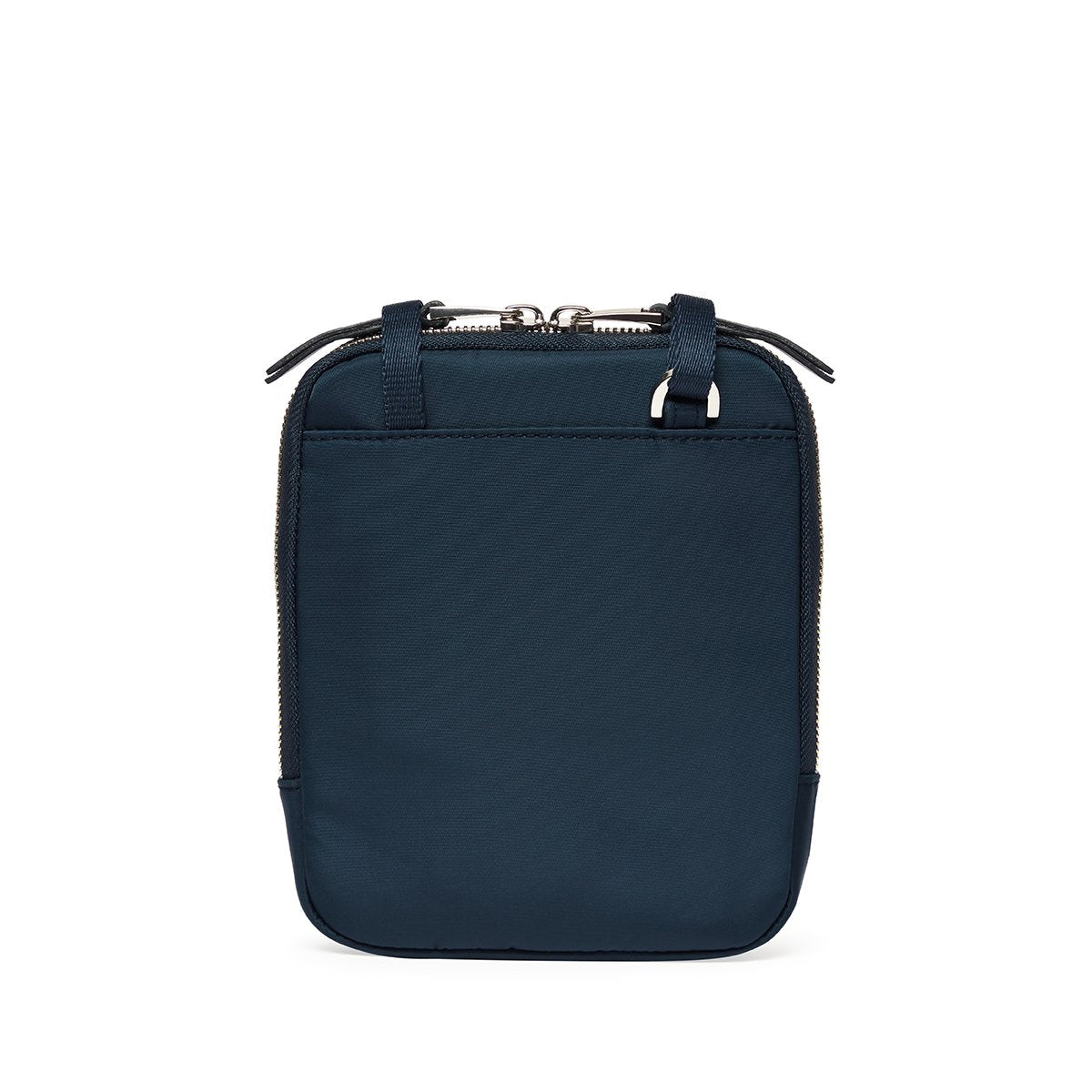"KNOMO Rex Mini Cross-Body From Back 6"" -  Dark Navy Blazer 