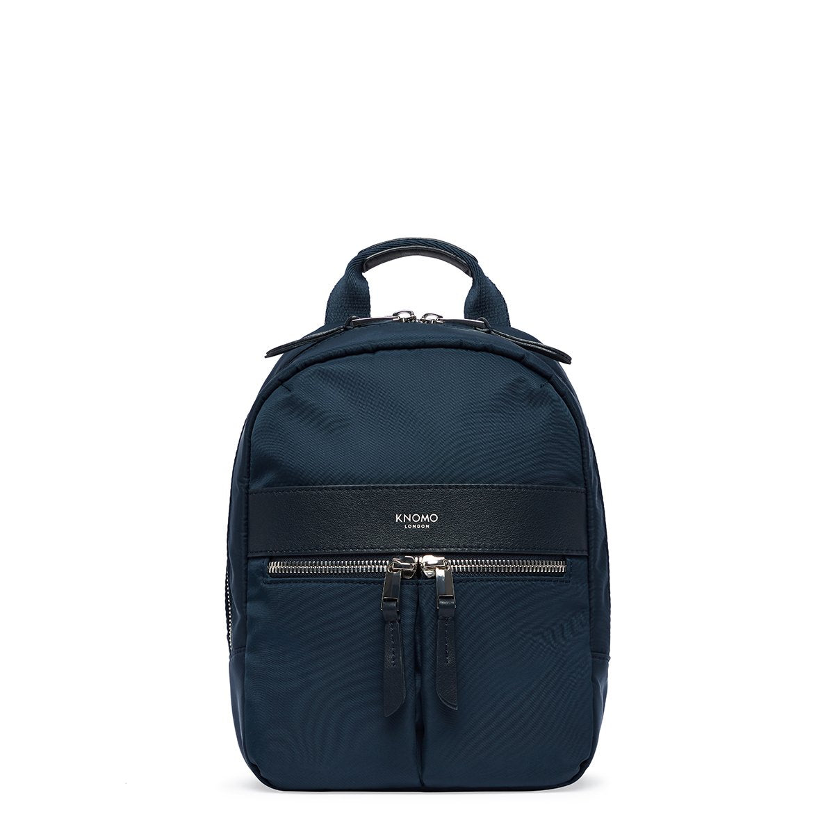 "KNOMO Beauchamp XS Backpack From Front 8"" -  Dark Navy Blazer 