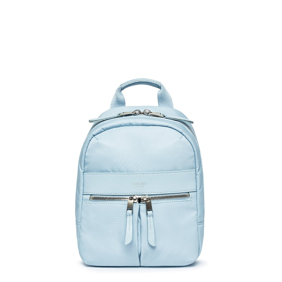 "KNOMO Beauchamp XS Backpack From Front 8"" -  Poplin Blue 
