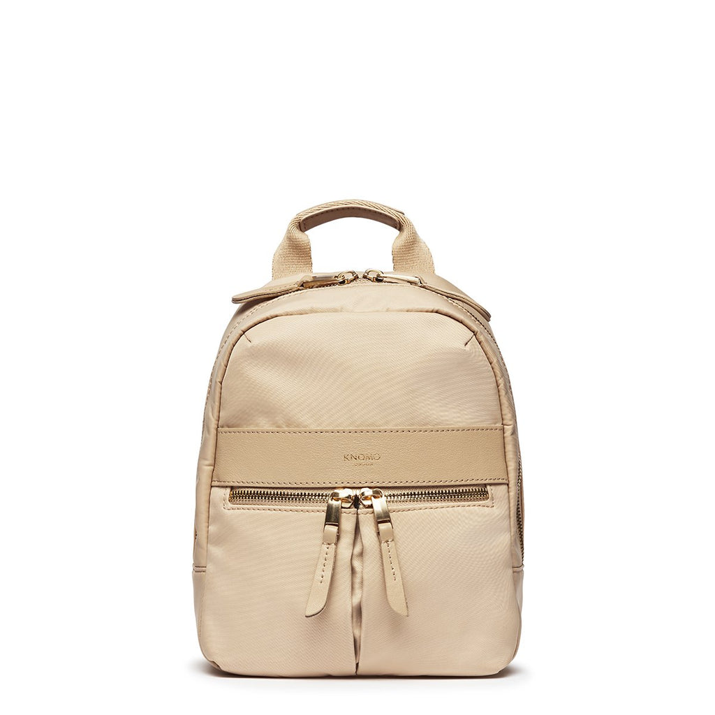 "Beauchamp XS Backpack 8"" Trench Beige – KNOMO"