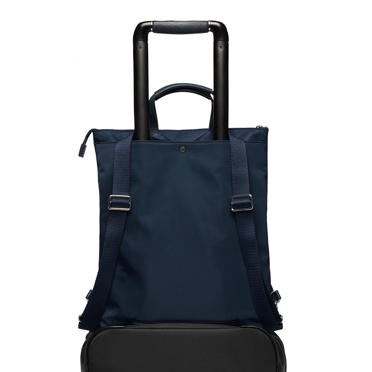 "KNOMO Harewood Laptop Tote Backpack Trolley Sleeve View 15"" -  Dark Navy Blazer 