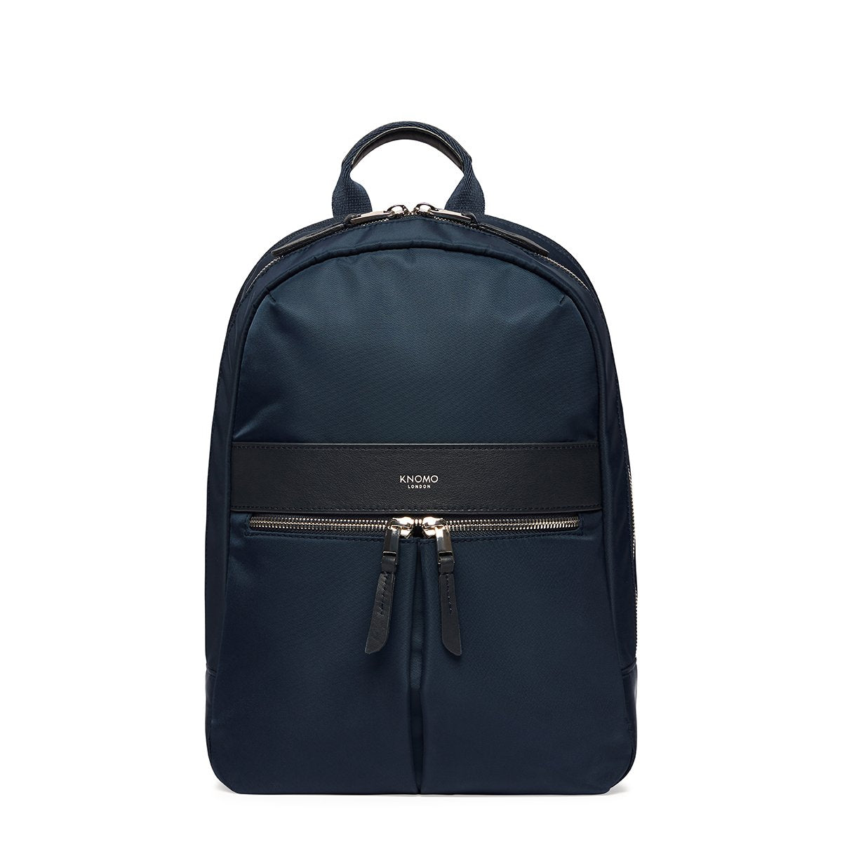 "KNOMO Mini Beaufort Backpack From Front 12"" -  Dark Navy Blazer 