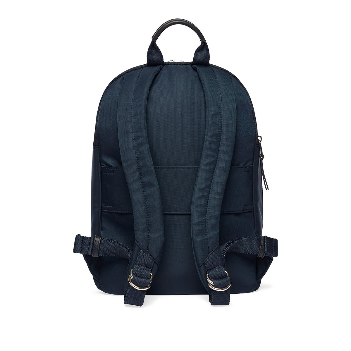 "KNOMO Mini Beaufort Backpack From Back 12"" -  Dark Navy Blazer 