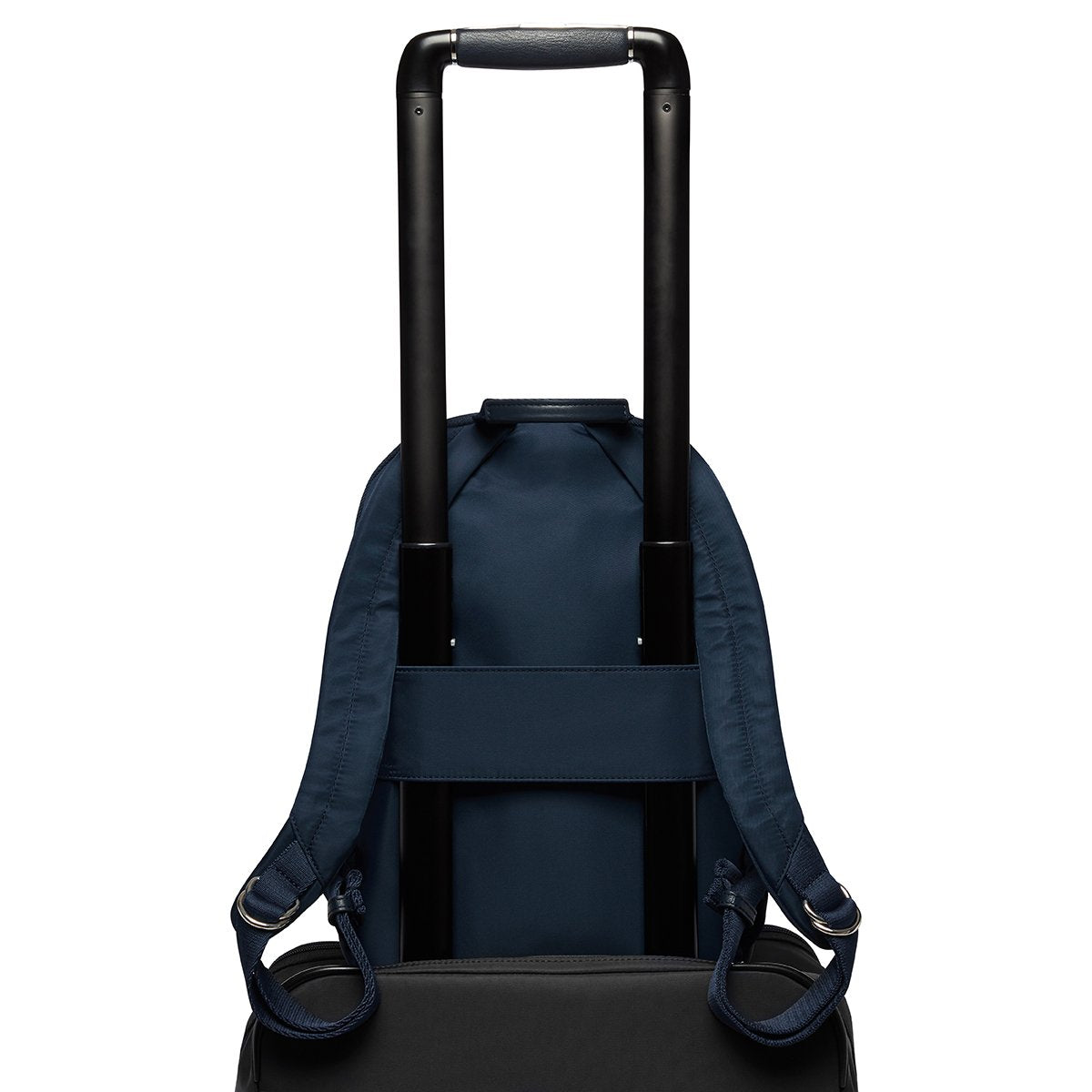 "KNOMO Mini Beaufort Backpack Trolley Sleeve View 12"" -  Dark Navy Blazer 