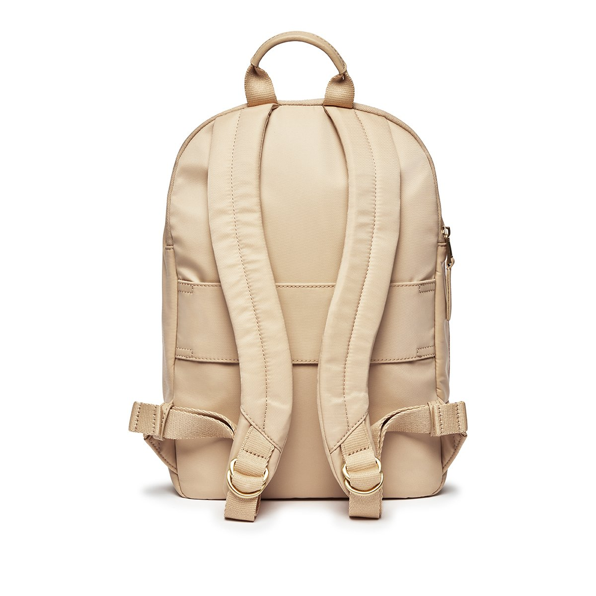 "KNOMO Mini Beaufort Backpack From Back 12"" -  Trench Beige 