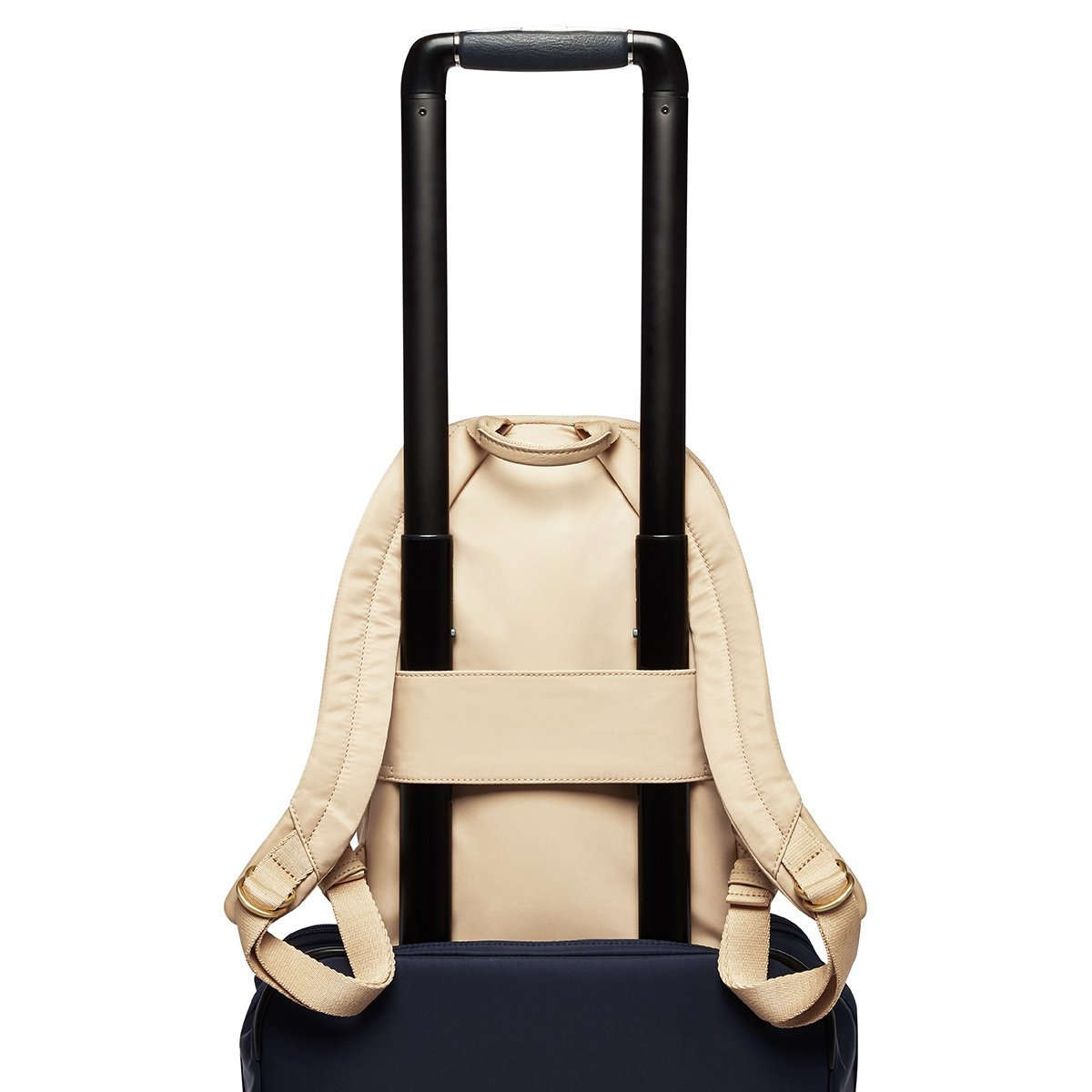 "KNOMO Mini Beaufort Backpack Trolley Sleeve View 12"" -  Trench Beige 