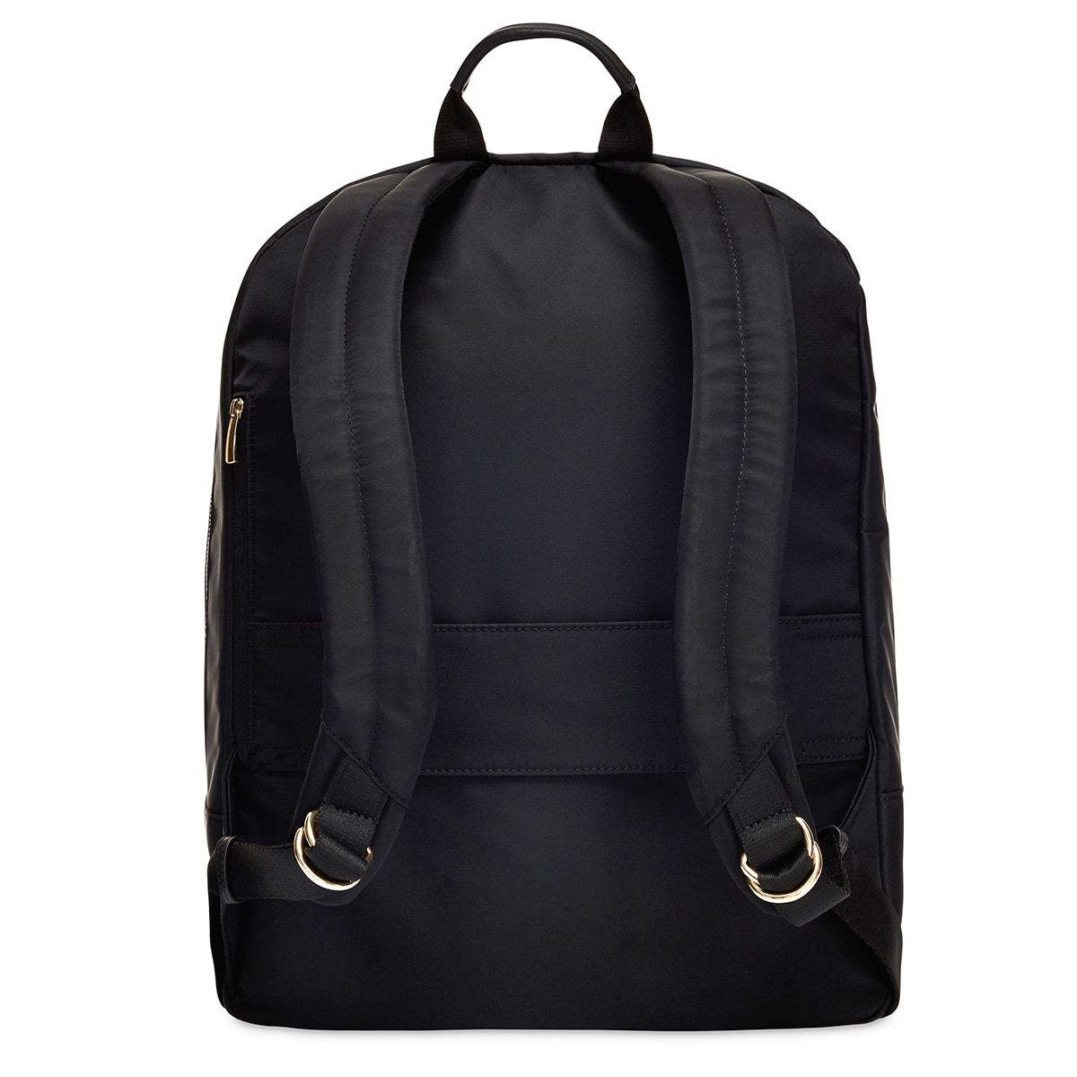 "KNOMO Beauchamp Laptop Backpack From Back 14"" -  Black 