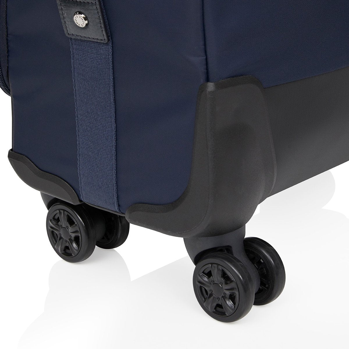 "KNOMO Park Lane Boarding Tote Close Up Wheels 15"" -  Dark Navy 