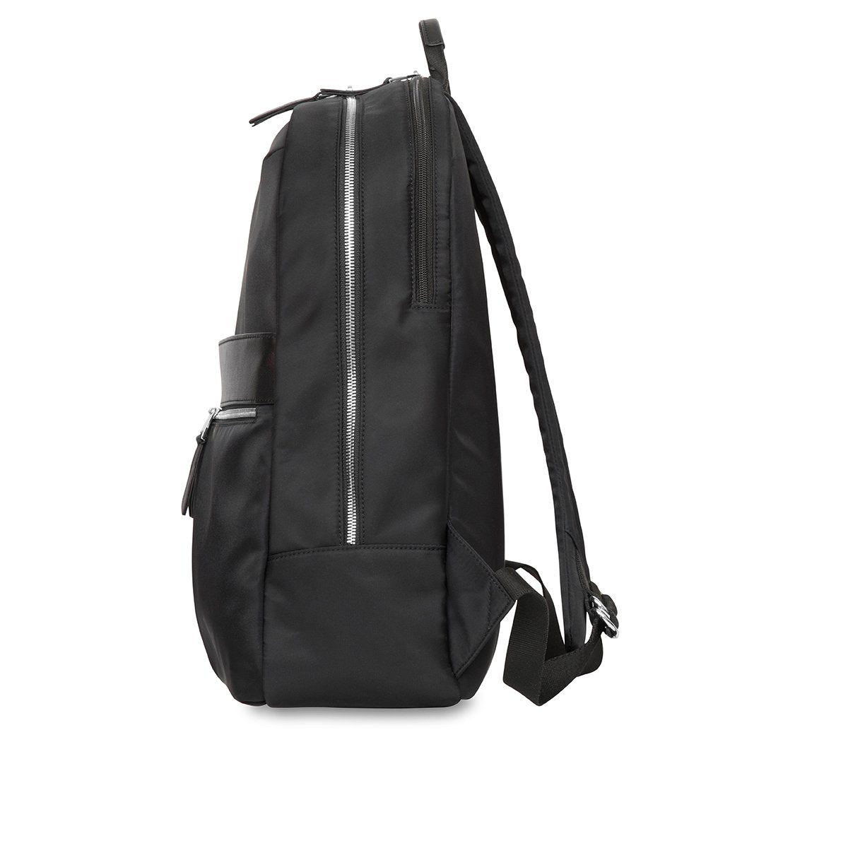 "KNOMO Beaufort Laptop Backpack From Side 15.6"" -  Black 