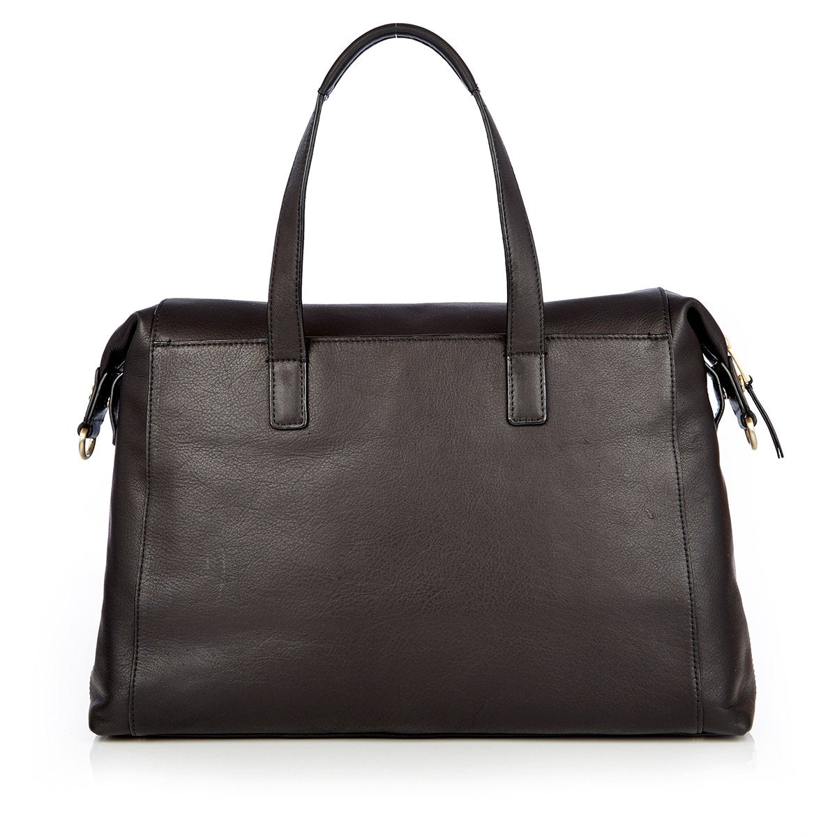 "KNOMO Audley Laptop Handbag From Back 14"" -  Black 