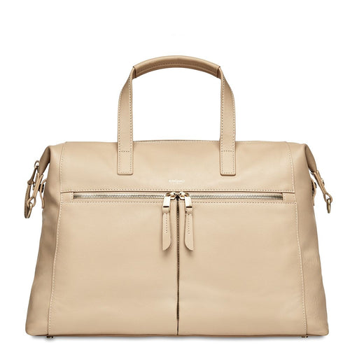 "Leather Laptop Handbag - 14"" - Audley 