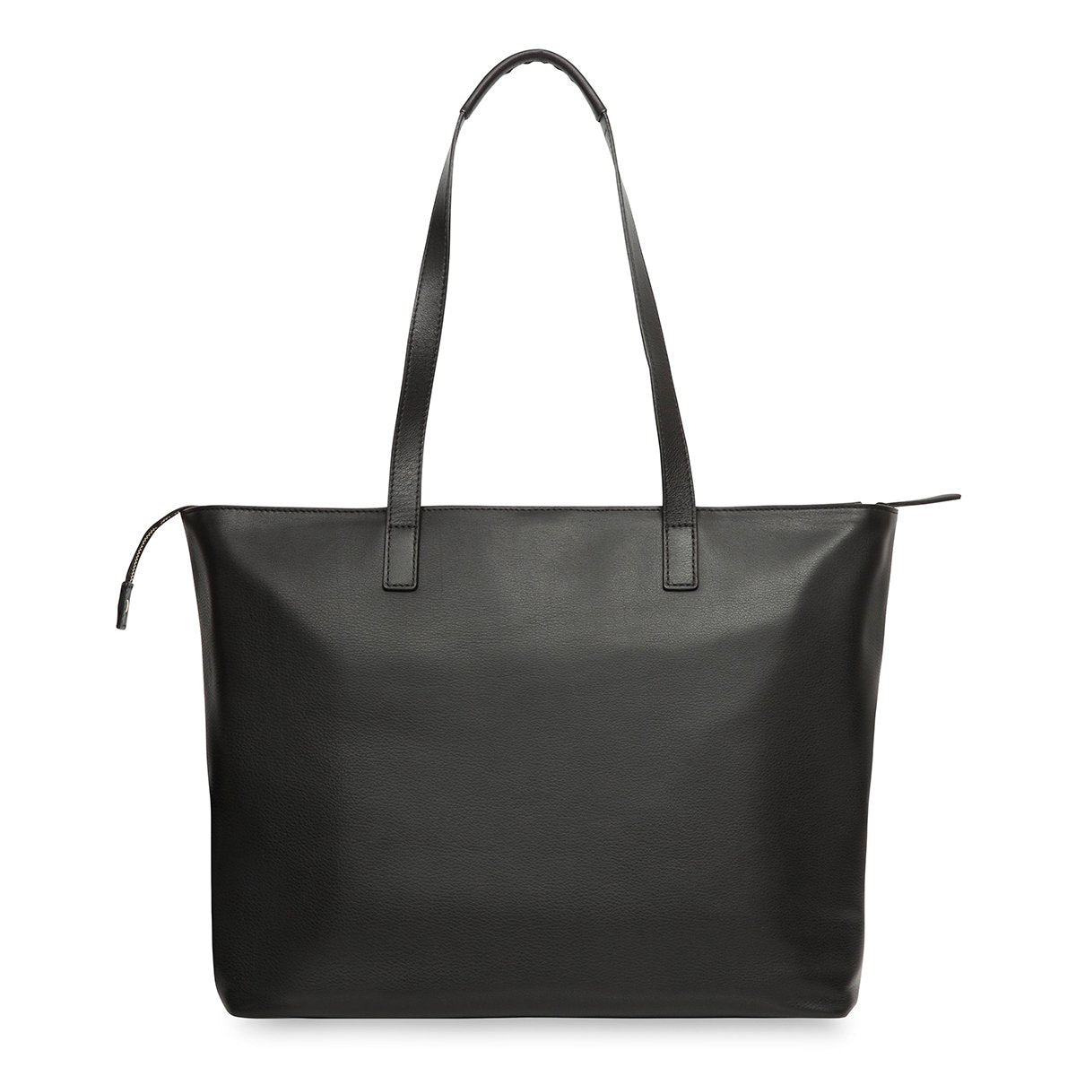 "KNOMO Maddox Laptop Tote From Back 15"" -  Black 
