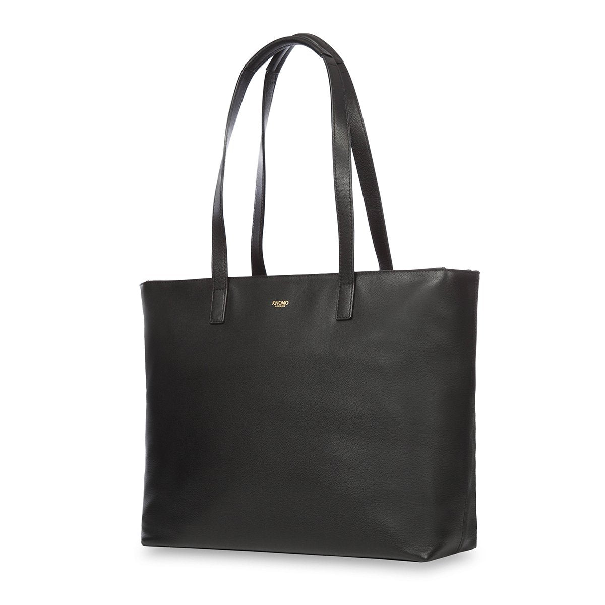 "KNOMO Maddox Laptop Tote Three Quarter View 15"" -  Black 