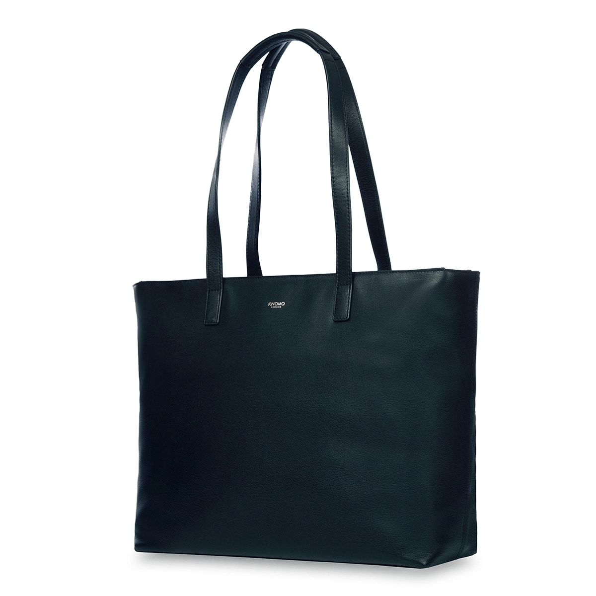 "KNOMO Maddox Laptop Tote Three Quarter View 15"" -  Dark Navy Blazer 