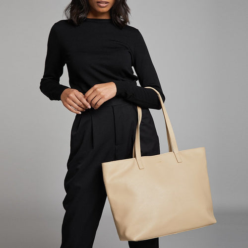 "KNOMO Maddox Leather Laptop Tote Bag - 15"" Main Image 