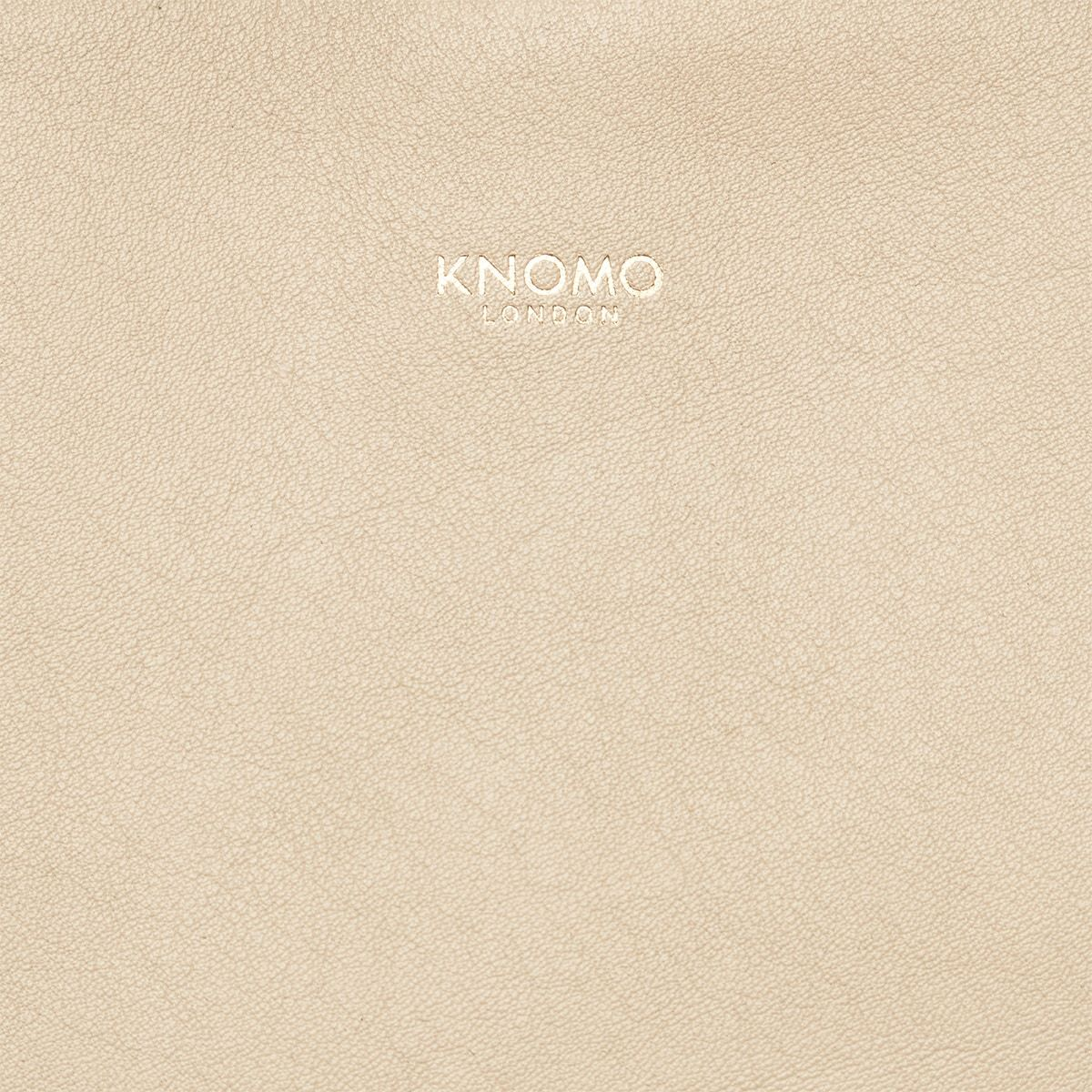 "KNOMO Maddox Laptop Tote Close Up Logo 15"" -  Trench Beige 