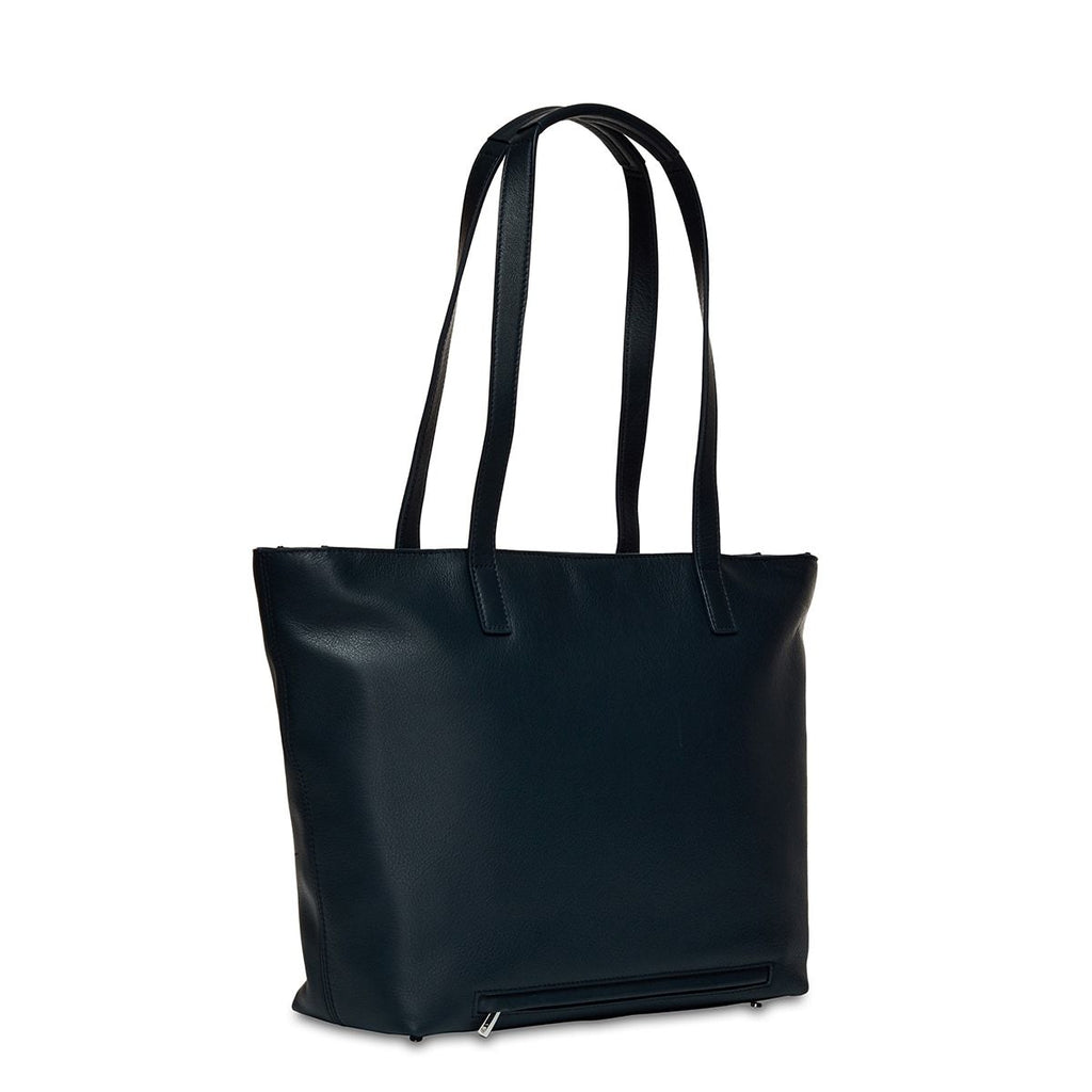 "Leather Laptop Tote Bag - 13"" – KNOMO"