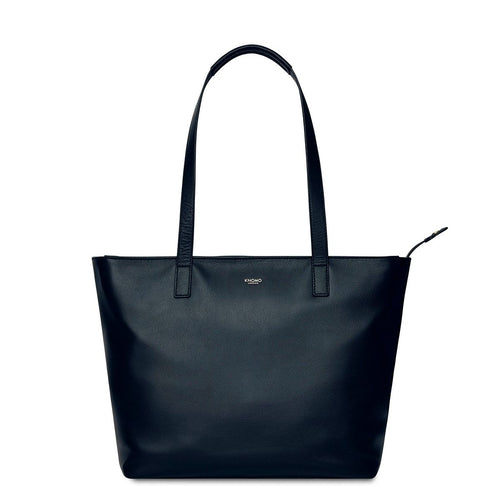 "KNOMO Mini Maddox Leather Laptop Tote Bag - 13"" From Front 
