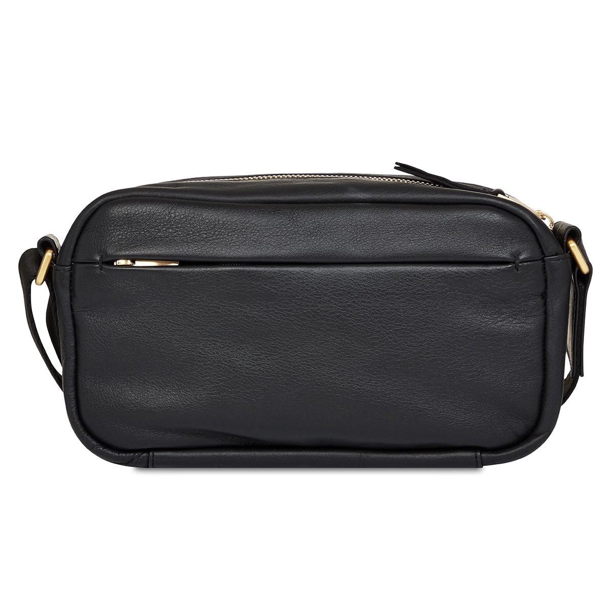 "KNOMO Brook Mini Cross-Body From Back 10.5"" -  Black 