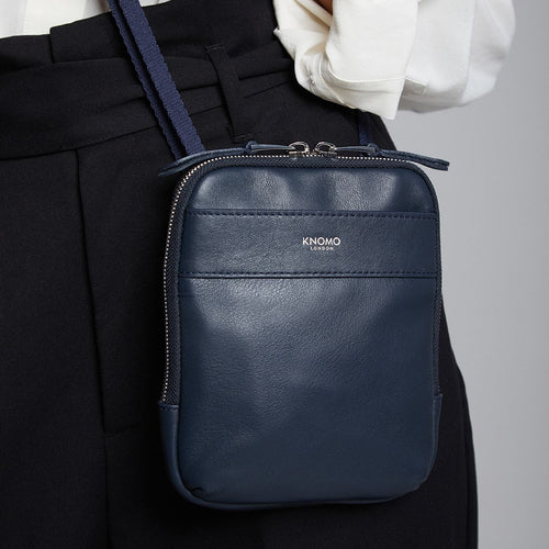 KNOMO Rex Leather Cross-Body Main Image | knomo.com