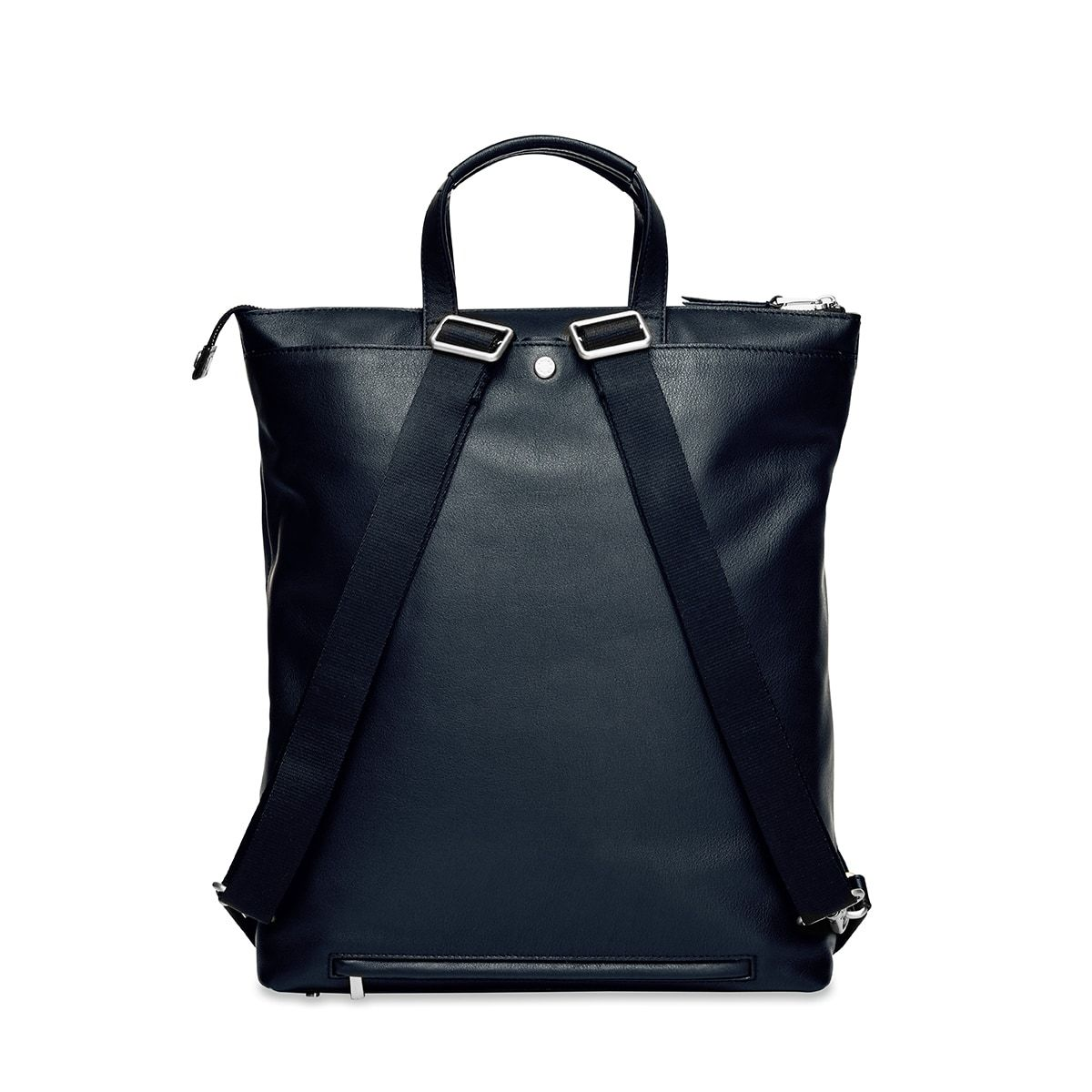 "KNOMO Harewood Laptop Tote Backpack From Back 15"" -  Dark Navy Blazer 