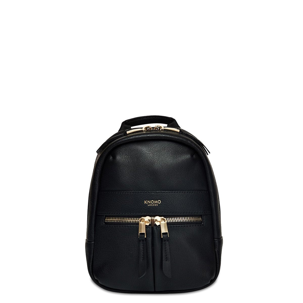 "KNOMO Beauchamp XXS Backpack / X-Body From Front 6"" -  Black 